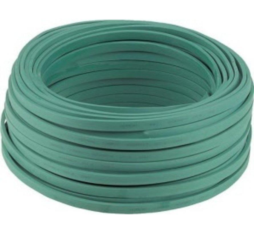 Prikkabel groen - Per meter