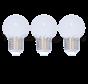 LED kogellamp - 1W - warm wit - matte kap - E27 2650K