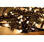 Kerstverlichting: 10 meter met 100 Led lampen - Warm wit incl. aansluitsnoer