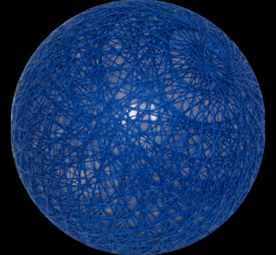 Cotton ball Blauw- 6cm