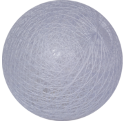 Cotton ball Lichthemels Blauw