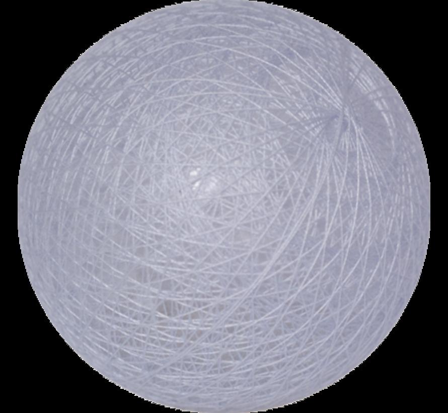 Cotton ballicht Lichthemels Blauw- 6cm