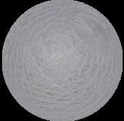 Cotton ball Licht Staalblauw