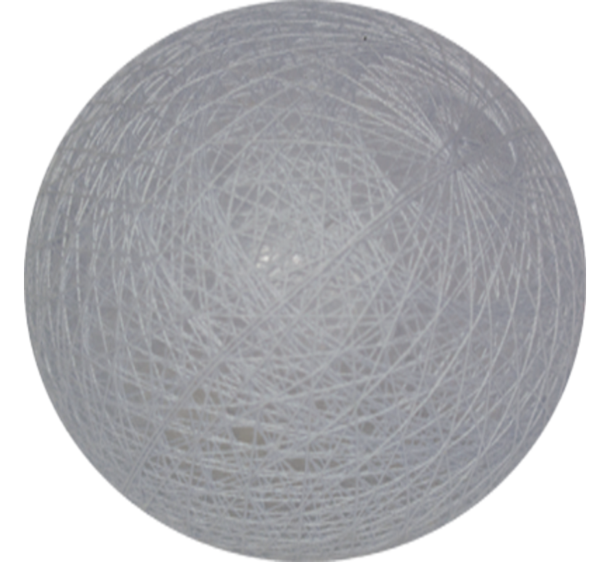 Cotton ball Licht Staalblauw - 6cm