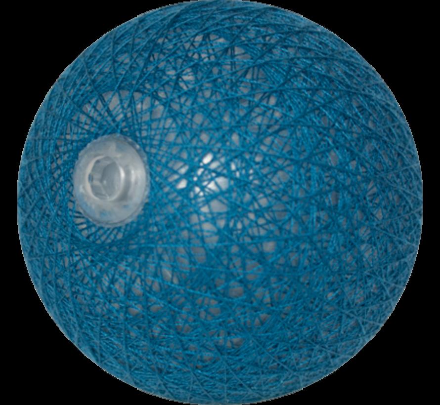 Cotton ball donker Staalblauw - 6cm