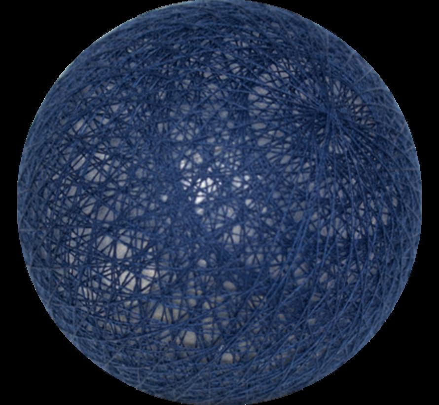 Cotton ball donker Blauw- 6cm