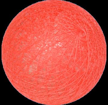 Cotton ball Licht koraal