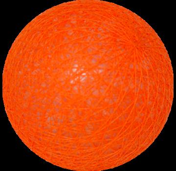 Cotton ball Fel Oranje