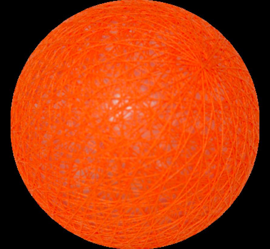 Cotton ball Fel Oranje - 6cm