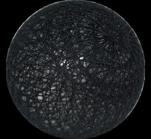 Cotton ball Zwart - 6cm