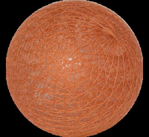 Cotton ball Koperbruin - 6cm