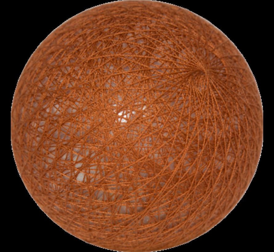 Cotton ball Roestbruin - 6cm