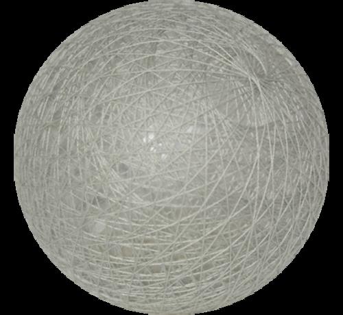 Cotton ball licht grijs - 6cm