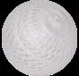 Cotton ball Levend wit  - 6cm