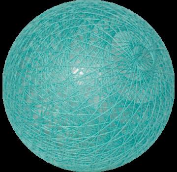Cotton ball Aqua Blauw