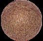 Cotton ballGoud-Rood 6cm