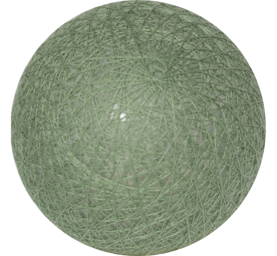 Cotton ball Legergroen  6cm