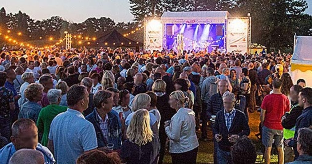 Verlichtingpaleis verlicht het Reeshof Muze Festival in Tilburg