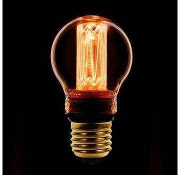 Led kooldraad kogellamp 2,3W 1800K super warm wit - Dimbaar