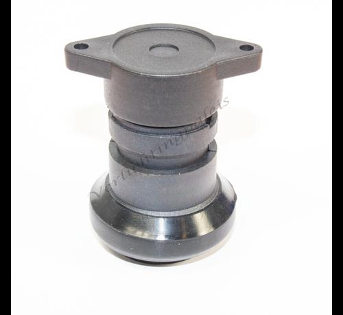 IP44 waterdichte prikfitting - E27 zwart - per 5 stuks