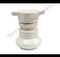 IP44 waterdichte prikfitting - E27 wit - per 5 stuks