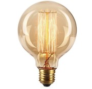 Heldere Filamentlamp Globe 80mm 40W E27