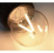Dimbare LED Filament lamp 3W - transparant - 2650K