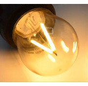 Dimbare LED Filament lamp 3W - transparant - 2000K