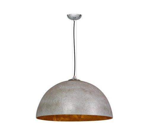 B-stock Hanglamp Mezzo Tondo 50 cm Grijs/Goud