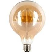 Global-lux Filament Led Globe 150mm 4w E27 230v 2500k Goud Dimbaar tronic dimmer