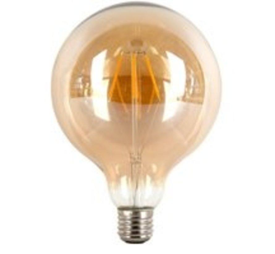Filament Led Globe 150mm 4w E27 230v 2500k Goud Dimbaar tronic dimmer