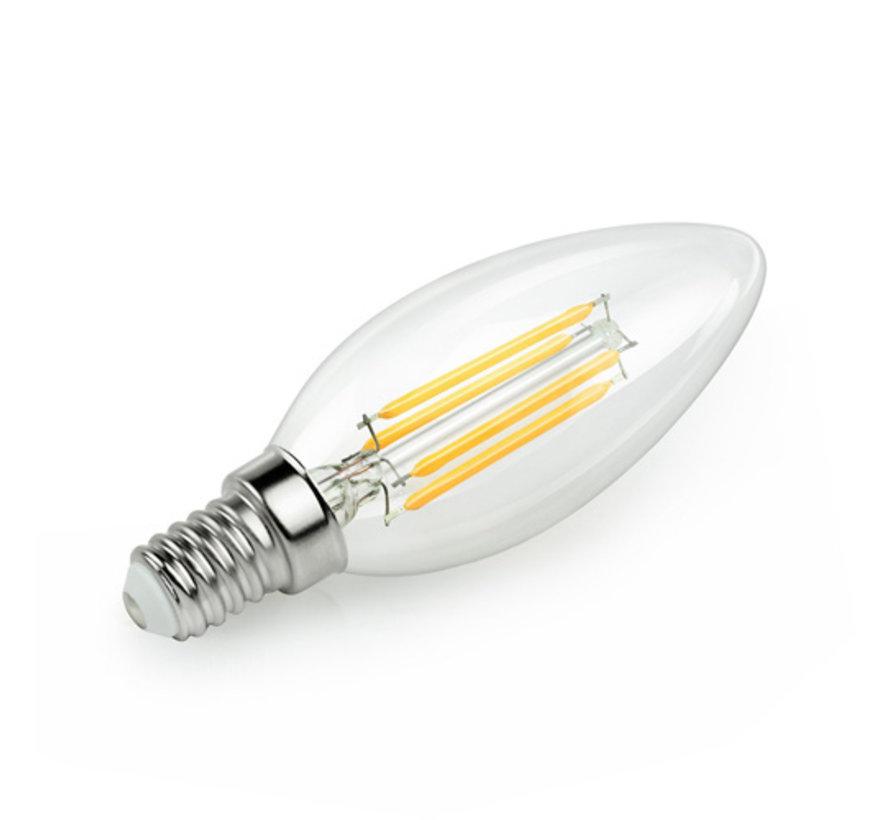 LED lichtbron kaars 2W helder E14