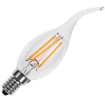 Global-lux LED kaarslamp 2W helder E14  met tip