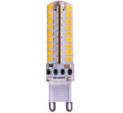 4,5W G9 Led steeklamp 220V - Dimbaar