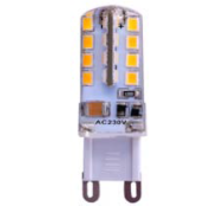 2,7W G9 Led steeklamp 220V