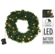 S.I.A kerstverlichting:  Kerstkrans 50cm 25 LED