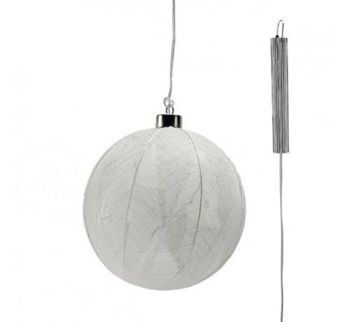 """Glazen LED BOL - 15 cm """"Leaf"""""""