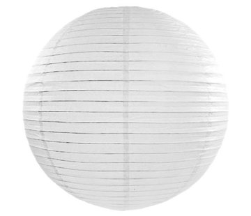 Amlux Witte lampion voor buiten Ø30cm