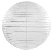 Amlux Witte lampion voor buiten Ø35cm