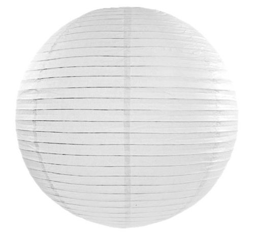 Amlux Witte lampion voor buiten Ø50cm