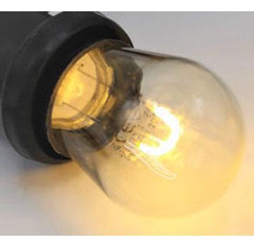Gebogen LED Filament lamp 1W - transparant - 2700K