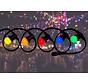 prikkabel - 15 meter met 45 LED lampen  (5 kleuren)