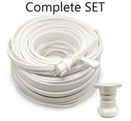 Amlux Doe het zelf Set - 10 meter Wit