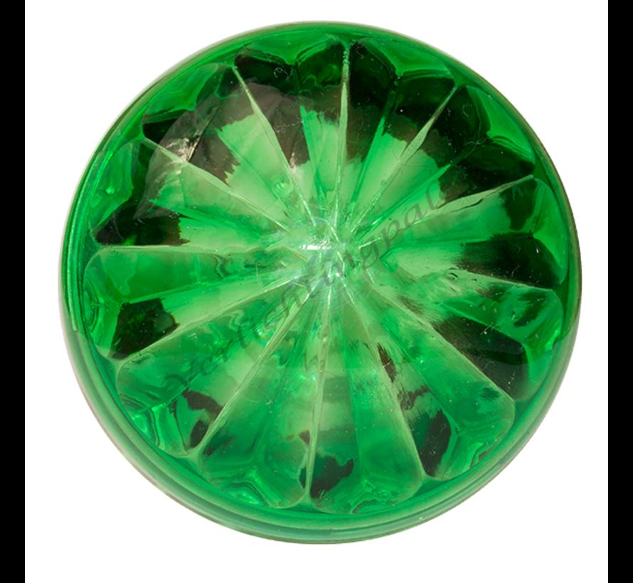 Deksel Licht groen voor E14 voet van kermisverlichting
