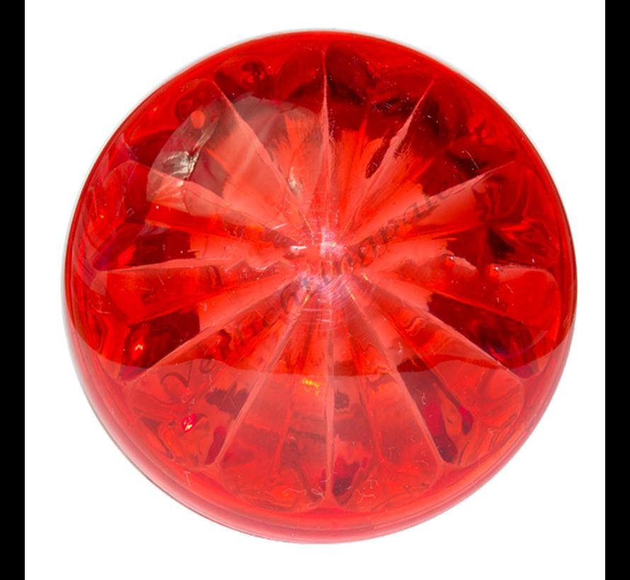 Deksel rood voor E14 voet van kermisverlichting