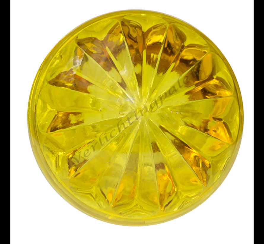 Deksel geel voor E14  voor kermisverlichting