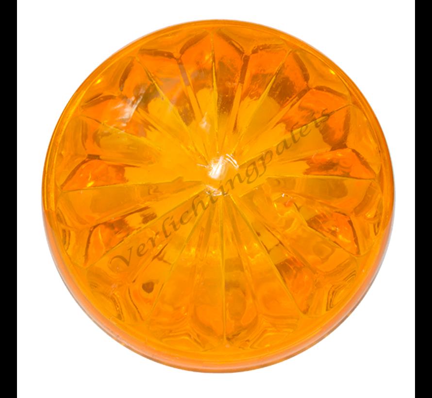 Deksel oranje voor E14 voet van kermisverlichting