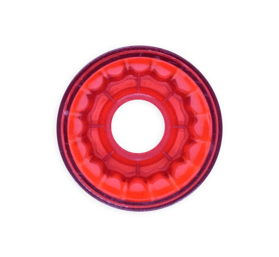 Rode  voet voor E14 voet - kermisverlichting