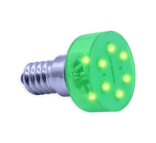 E14 - LED lamp groen voor kermisverlichting
