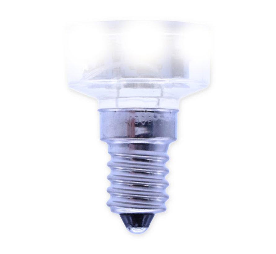 E14 - LED lamp koud wit  voor kermisverlichting